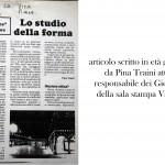Articolo di Pina Traiani