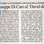 Un riconoscimento dal David Di Donatello