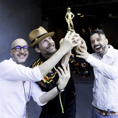 Jovanotti, Saturnino Celani e Riccardo Onori